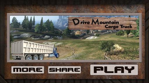 無料模拟Appの山の貨物トラックを運転|記事Game