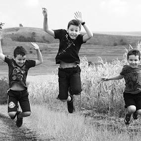 Jump! by Ioan-Dan Petringel - Babies & Children Children Candids