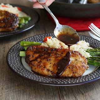 Balsamic Herb Chicken.