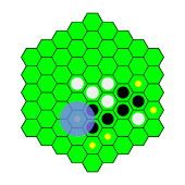 Hexagon Reversi