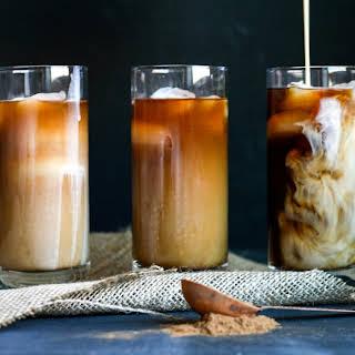 Pumpkin Spice Cold Brew Coffee.