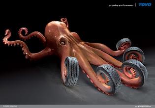 Photo: TOYO: Octopus http://adsoftheworld.com/media/print/toyo_octopus?size=_original