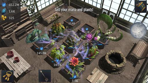 Wizards Greenhouse Idle  captures d'écran 2