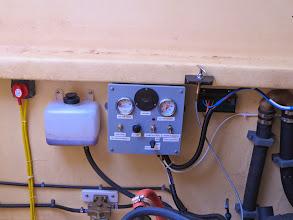 Photo: Genset control panel