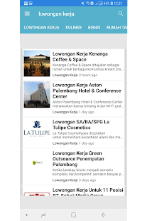 Palembang Blog Native for PC-Windows 7,8,10 and Mac apk screenshot 3
