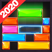 Drop Down Block - Puzzle Jewel Blast Game