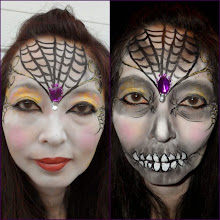 Photo: Halloween face painting by Heidi in La Verne, caBook Heidi by calling 888-750-7024