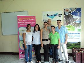 Photo: Equipo coordinador Ministerio de Energía y Minas, BlueEnergy /Asociación RENOVABLES