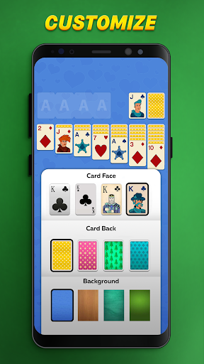 Solitaire Play u2013 Classic Klondike Patience Game screenshots 4