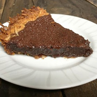Chocolate Pie with Coconut Crust