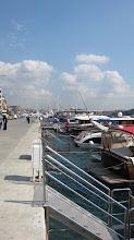 Photo: walking along the Bosphorus