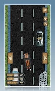 2D závodní auto - náhled