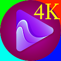 4K Video Player - Full 4K  Video Player  Ultra HD icon