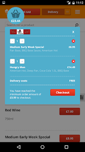 Takeaway.com - Order Food- screenshot thumbnail