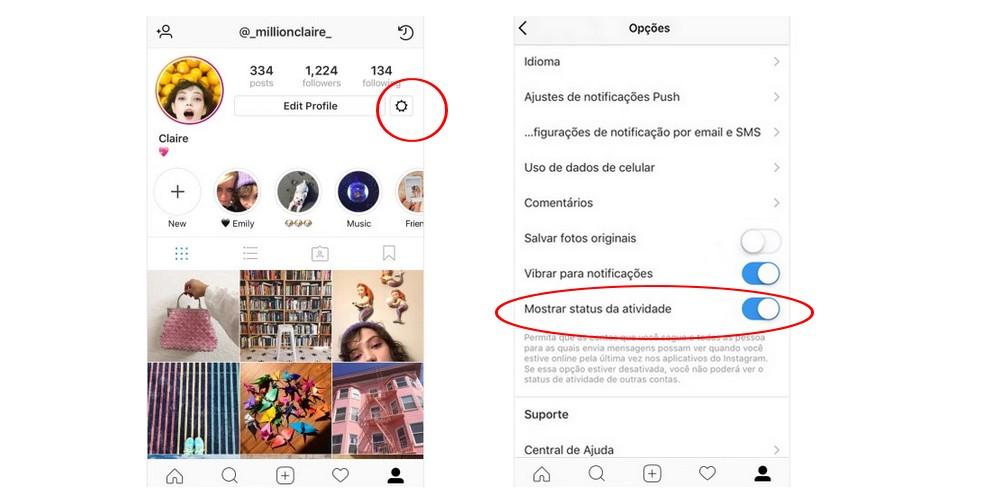 Novidade no Instagram Direct revela quando você está online