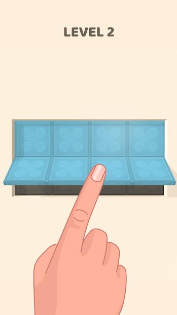 Folding Blocks Android App Screenshot