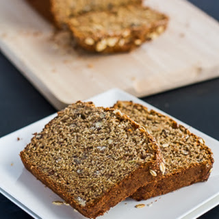 Healthy Whole Wheat Banana Nut Bread.