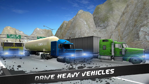 18 Wheeler Truck Simulator  screenshots 1