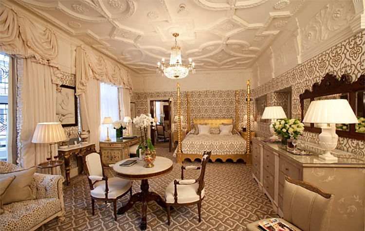 The Tudor Suite at the Milestone Hotel and Residence in London.