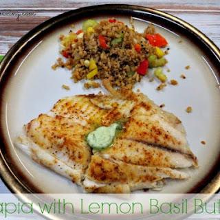 Tilapia with a Lemon Basil Butter Recipe