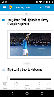 Australian Open Tennis 2016- screenshot thumbnail