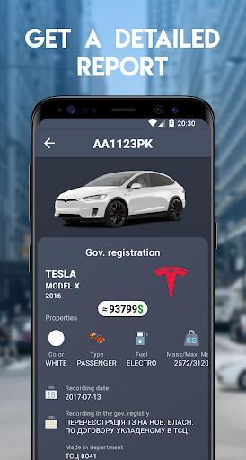 Auto Plates - Ukraine 2.0.0 screenshots 2