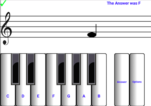 ¼ learn sight read music notes - piano sheet tutor  screenshots 1