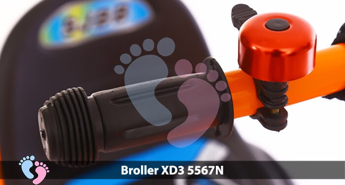 Xe đạp ba bánh Broller XD3-5567N 10