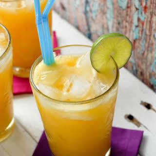 Champagne Mango-Lime Agua Fresca.