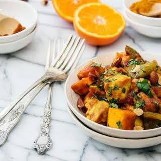 Easy Moroccan Slow Cooker Chicken Tajine.