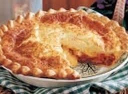 Bacon Cheese Puff Pie