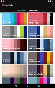 Must Color Palette Generator Screenshot Thumbnail