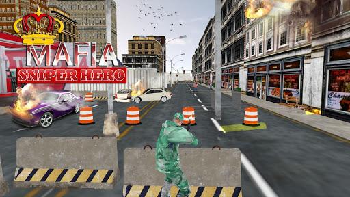Mafia Gangster Super Sniper Hero: sniper game