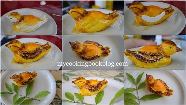 Птички от захарно тесто
