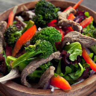 Gingered Beef Salad