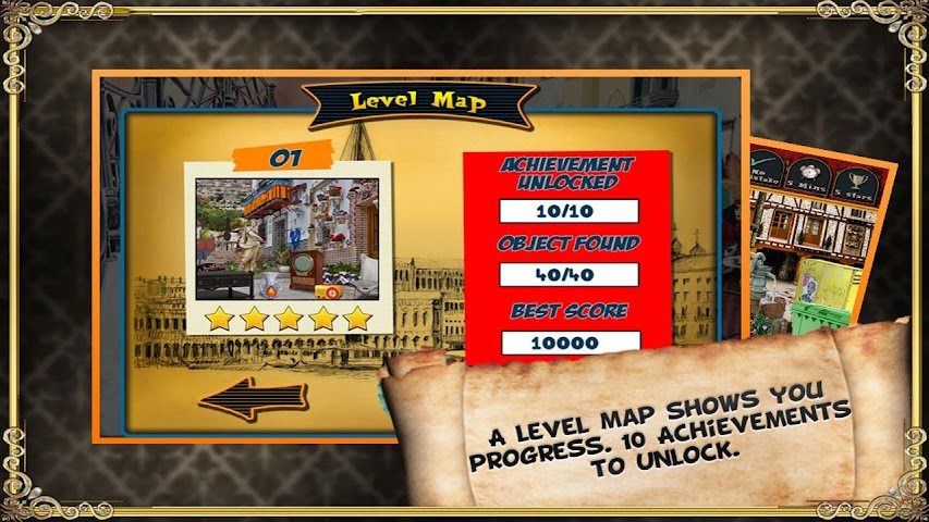 android Trip to Spain - Hidden Object Screenshot 2