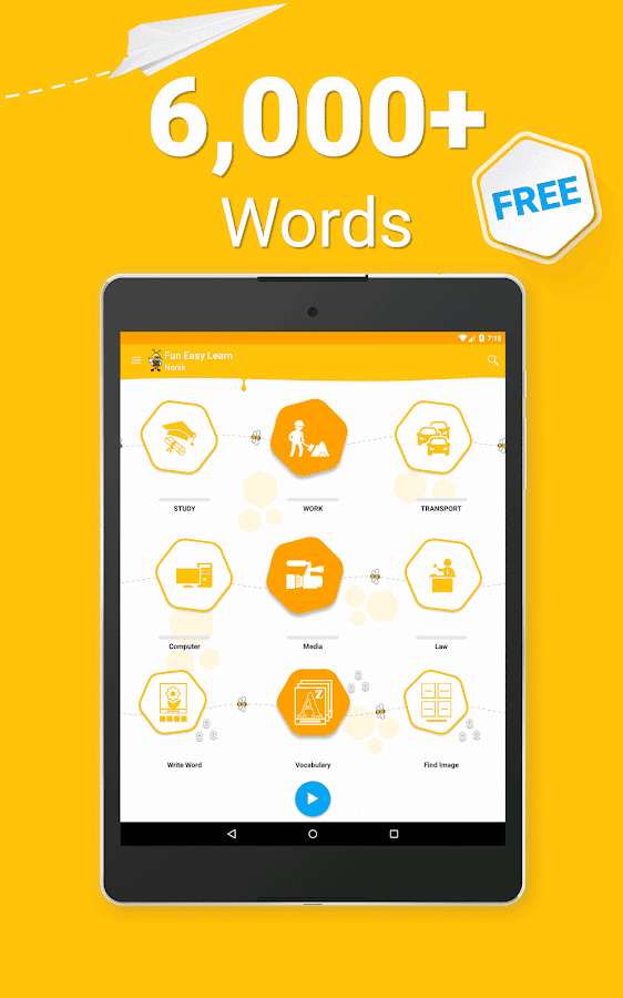 Learn Norwegian Vocabulary - 6,000 Words- screenshot