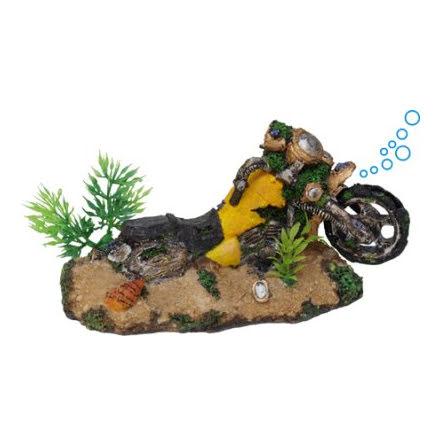Motorcykel med luft 18x9x9,5cm