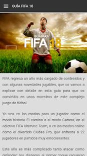 Guía para FIFA 18 - náhled