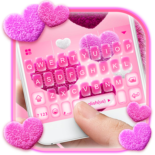 Valentine Plush Heart Keyboard Theme file APK for Gaming PC/PS3/PS4 Smart TV