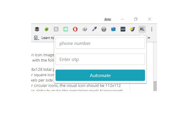 Autologin for tatadocomo wifi