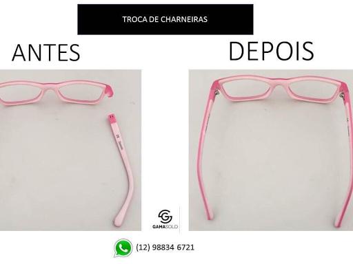 a1b7922528aee Seu oculos quebrou  Gama sold conserta.