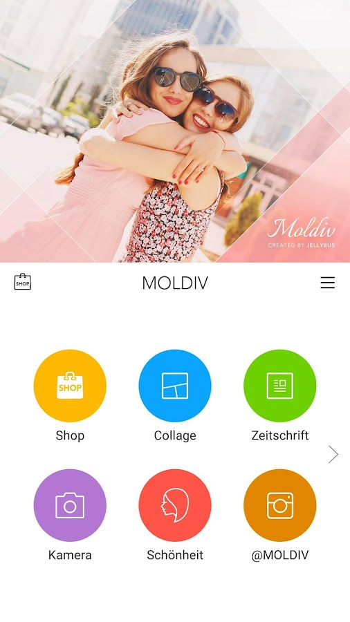 MOLDIV by JellyBus – Screenshot