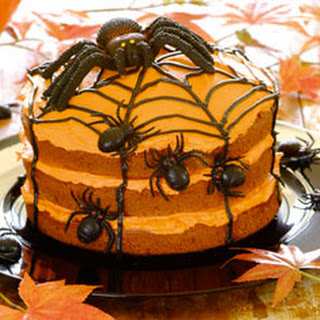 Halloween Spinnentaart