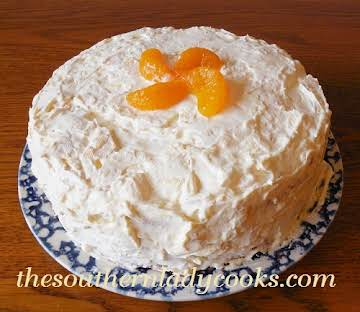 MANDARIN ORANGE CAKE - The Southern Lady Cooks