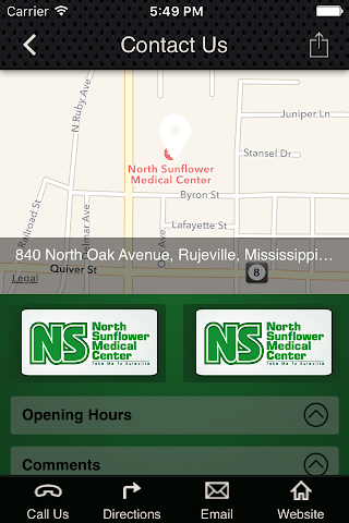 android North Sunflower Medical Center Screenshot 2