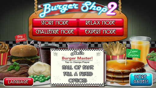 Burger Shop 2 – Crazy Cooking Game with Robots - screenshot