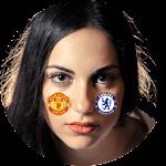 Premier League Face Logo Icon