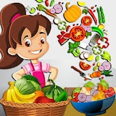 Kids Healthy Salad Bar Game