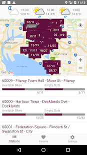 Melbourne Bike Share - náhled